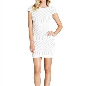 Dress the Population Tabitha White Sequin Dress